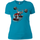 T-Shirts Turquoise / X-Small Dead Man's Bench Women's XC Tee