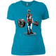 T-Shirts Turquoise / X-Small Dead Man's Lift Women's XC Tee