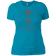 T-Shirts Turquoise / X-Small Full Depth Women's XC Tee