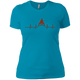 T-Shirts Turquoise / X-Small Heartbeat Women's XC Tee