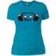 T-Shirts Turquoise / X-Small Meet Me At The Bar Women's XC Tee