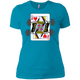 T-Shirts Turquoise / X-Small Queen Of Squats Women's XC Tee