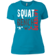 T-Shirts Turquoise / X-Small Squat Bench Deadlift Women's XC Tee
