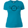 T-Shirts Turquoise / X-Small Squat O'Clock Women's XC Tee