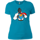 T-Shirts Turquoise / X-Small SuperRilla Women's Extra Comfort Tee