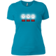T-Shirts Turquoise / X-Small White Lights Women's XC Tee