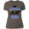 T-Shirts Warm Grey / X-Small 1,000 Pound Club Women's XC Tee