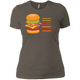 T-Shirts Warm Grey / X-Small Anatomy Of A Burger Women's XC Tee