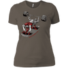 T-Shirts Warm Grey / X-Small Dead Man's Bench Women's XC Tee