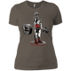 T-Shirts Warm Grey / X-Small Dead Man's Lift Women's XC Tee