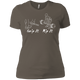 T-Shirts Warm Grey / X-Small Grip And Rip Women's XC Tee