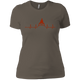 T-Shirts Warm Grey / X-Small Heartbeat Women's XC Tee