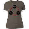T-Shirts Warm Grey / X-Small Holy Trinity Women's XC Tee