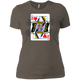 T-Shirts Warm Grey / X-Small Queen Of Squats Women's XC Tee