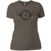 T-Shirts Warm Grey / X-Small Squat O'Clock Women's XC Tee