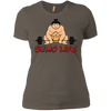 T-Shirts Warm Grey / X-Small Sumo Life Women's XC Tee