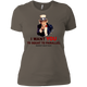 T-Shirts Warm Grey / X-Small Uncle Sam Women's Extra Comfort Tee