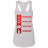 T-Shirts White / X-Small Bulking Season Racerback Tank