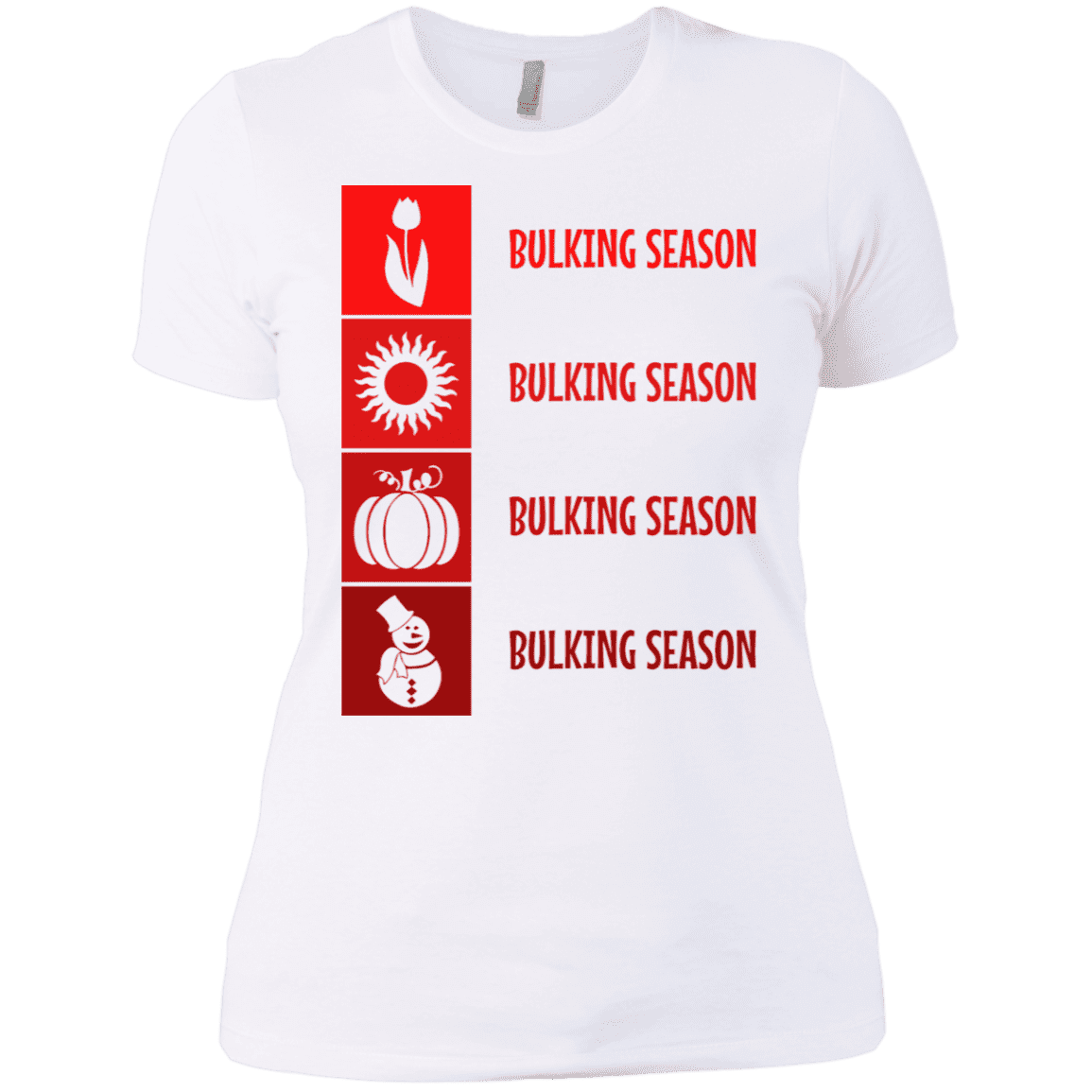 T-Shirts White / X-Small Bulking Season Women's XC Tee