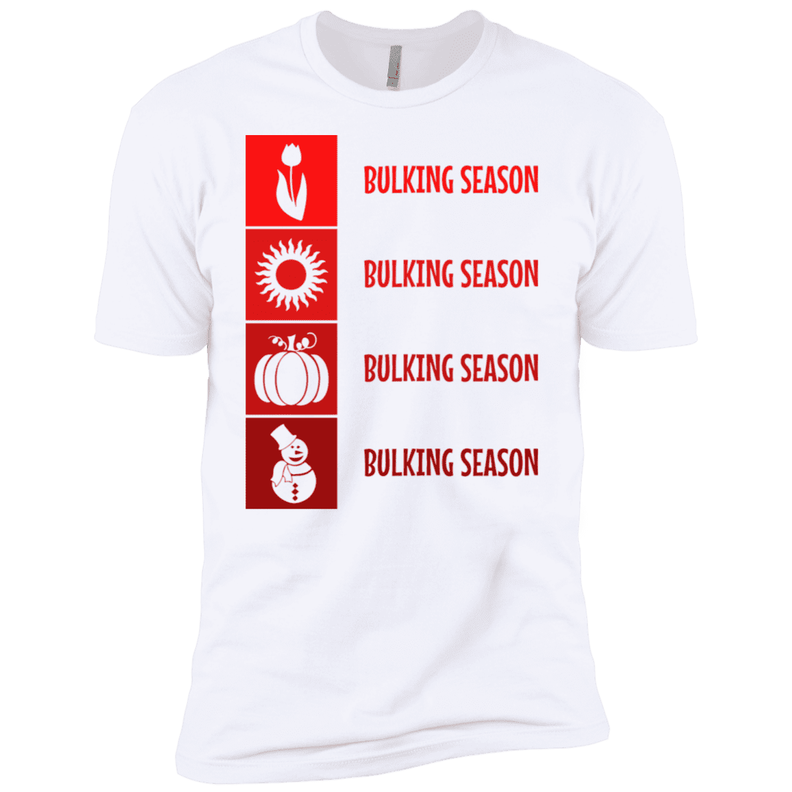 T-Shirts White / X-Small Bulking Season XC Tee