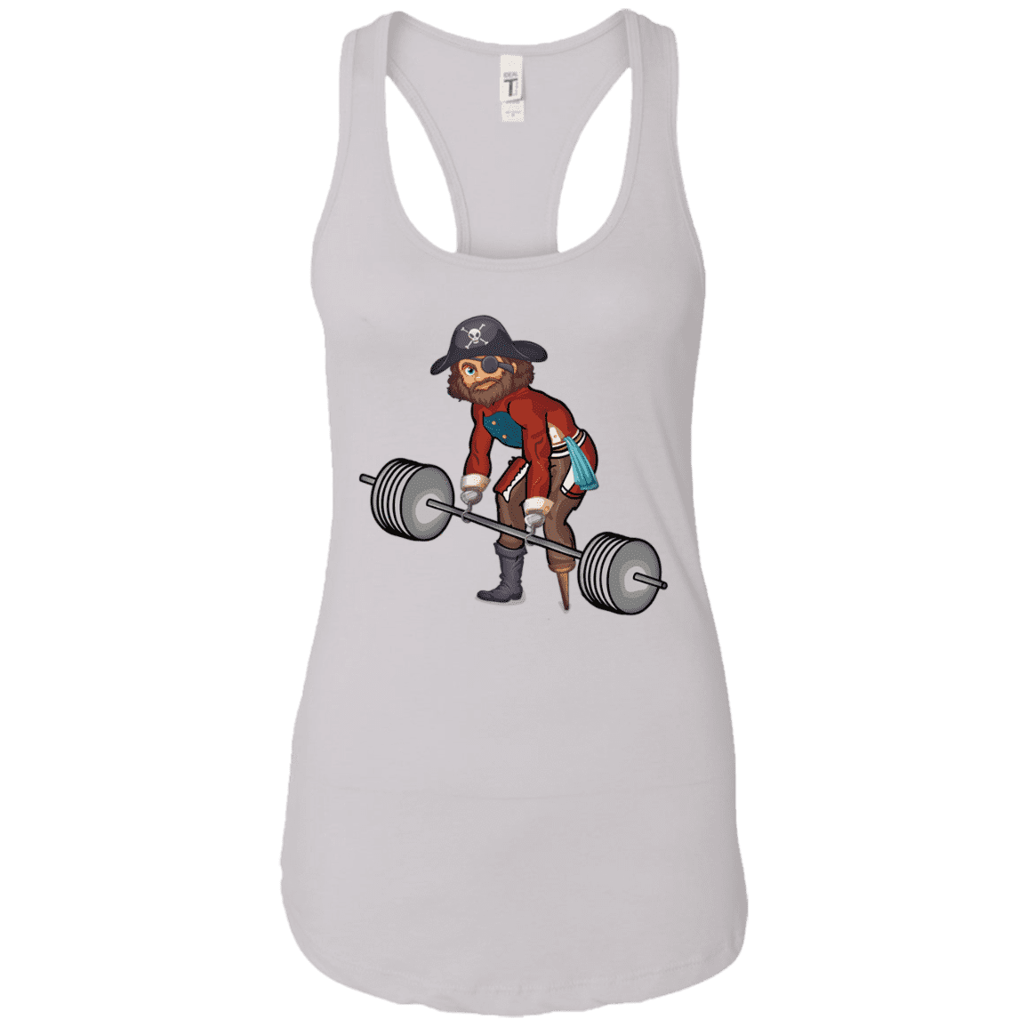 T-Shirts White / X-Small Captain HookGrip Racerback Tank