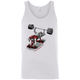 T-Shirts White / X-Small Dead Man's Bench Tank Top
