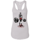 T-Shirts White / X-Small Dead Man's Lift Racerback Tank