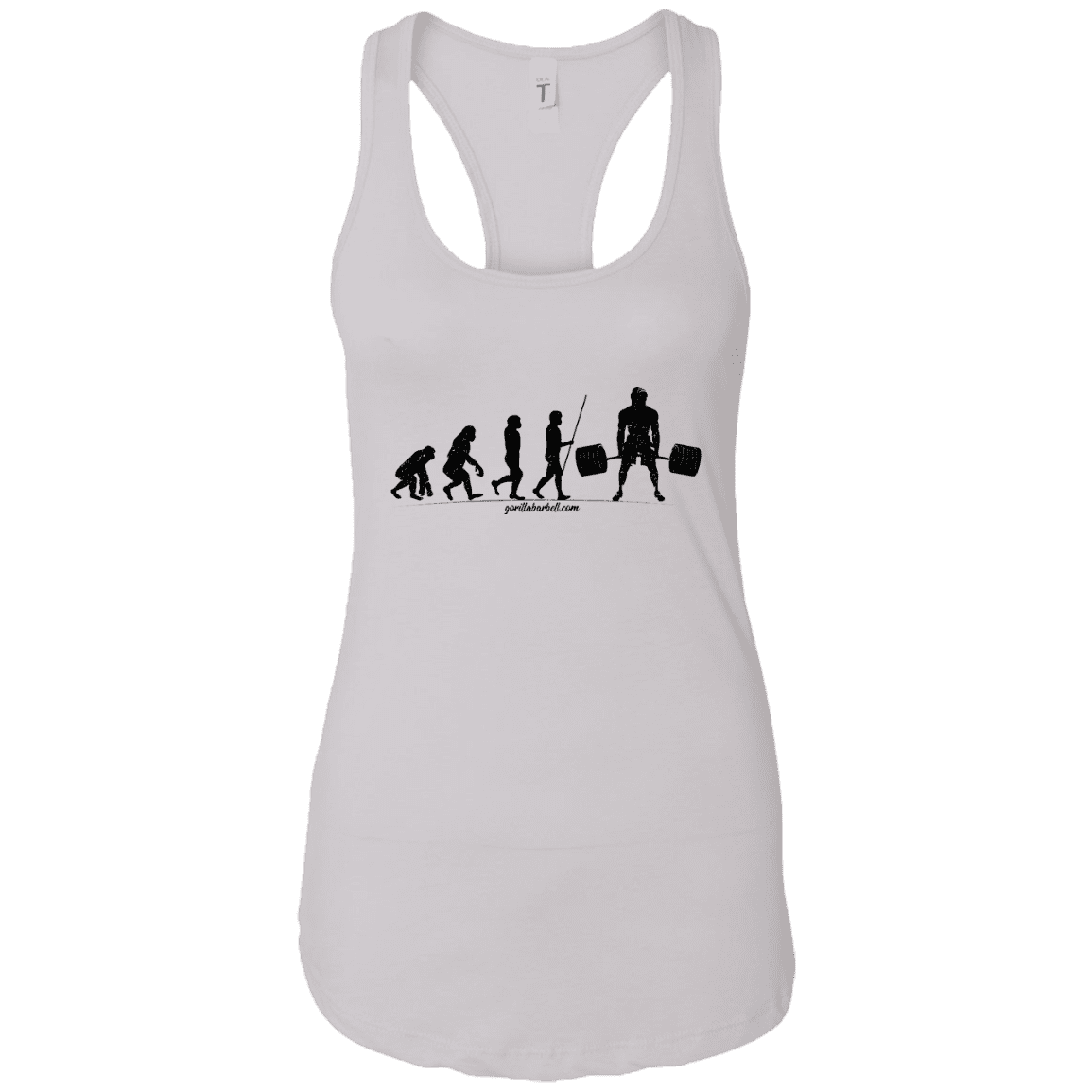 T-Shirts White / X-Small Evolution Racerback Tank