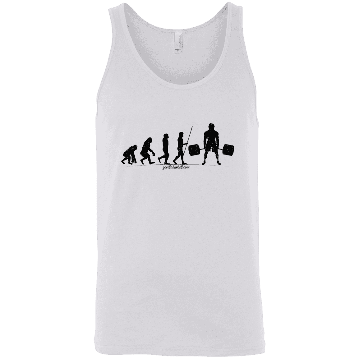 T-Shirts White / X-Small Evolution Tank Top