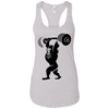 T-Shirts White / X-Small Gorilla Press Racerback Tank