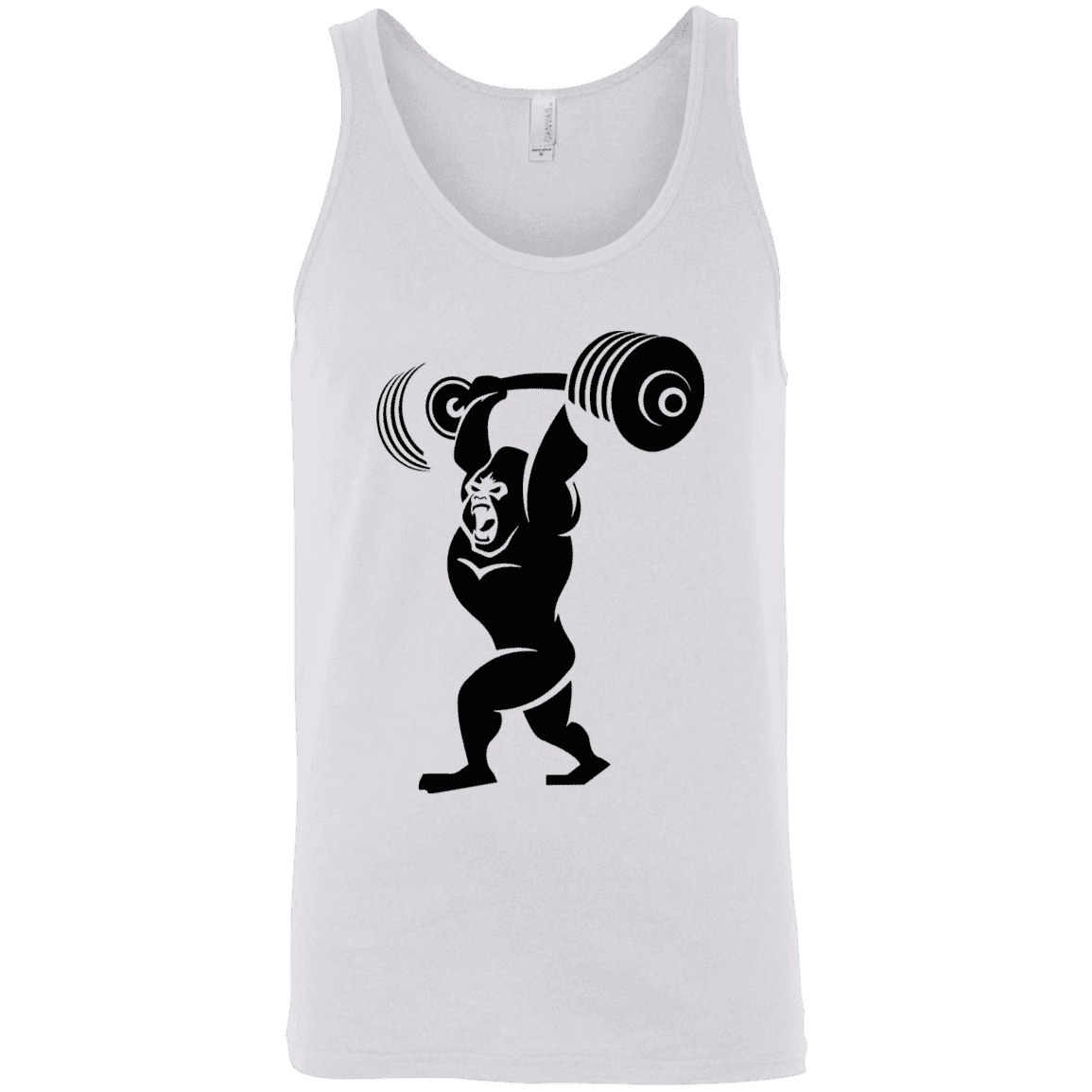 T-Shirts White / X-Small Gorilla Press Tank Top