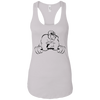 T-Shirts White / X-Small Gorilla Strength Racerback Tank