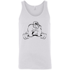 T-Shirts White / X-Small Gorilla Strength Tank Top