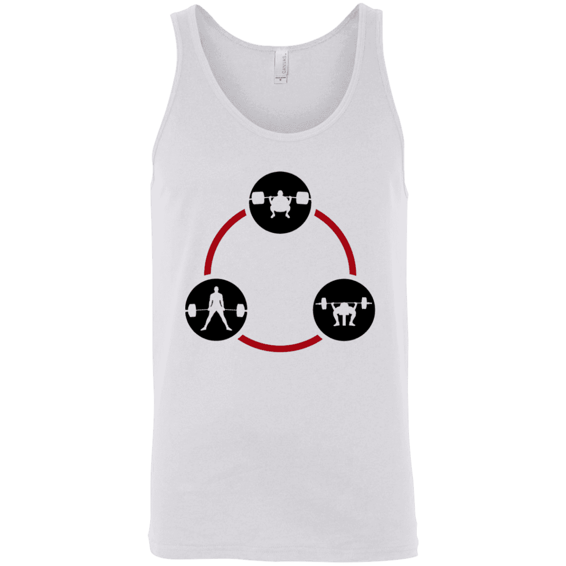 T-Shirts White / X-Small Holy Trinity Tank Top
