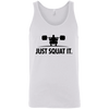 T-Shirts White / X-Small Just Squat It. Tank Top