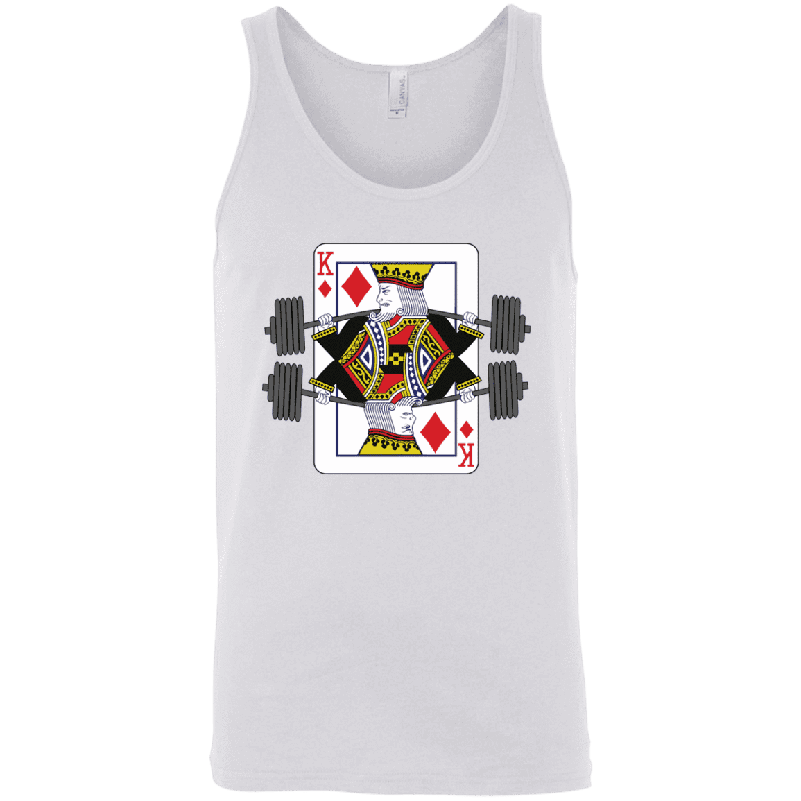 T-Shirts White / X-Small King Of Squats Tank Top