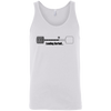T-Shirts White / X-Small Loading Barbell Tank Top