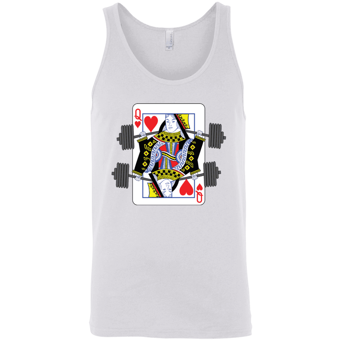 T-Shirts White / X-Small Queen Of Squats Tank Top