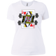 T-Shirts White / X-Small Queen Of Squats Women's XC Tee