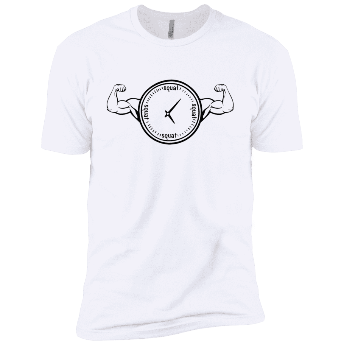 T-Shirts White / X-Small Squat O'Clock XC Tee