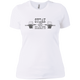 T-Shirts White / X-Small Steak And Deadlifts Women's XC Tee