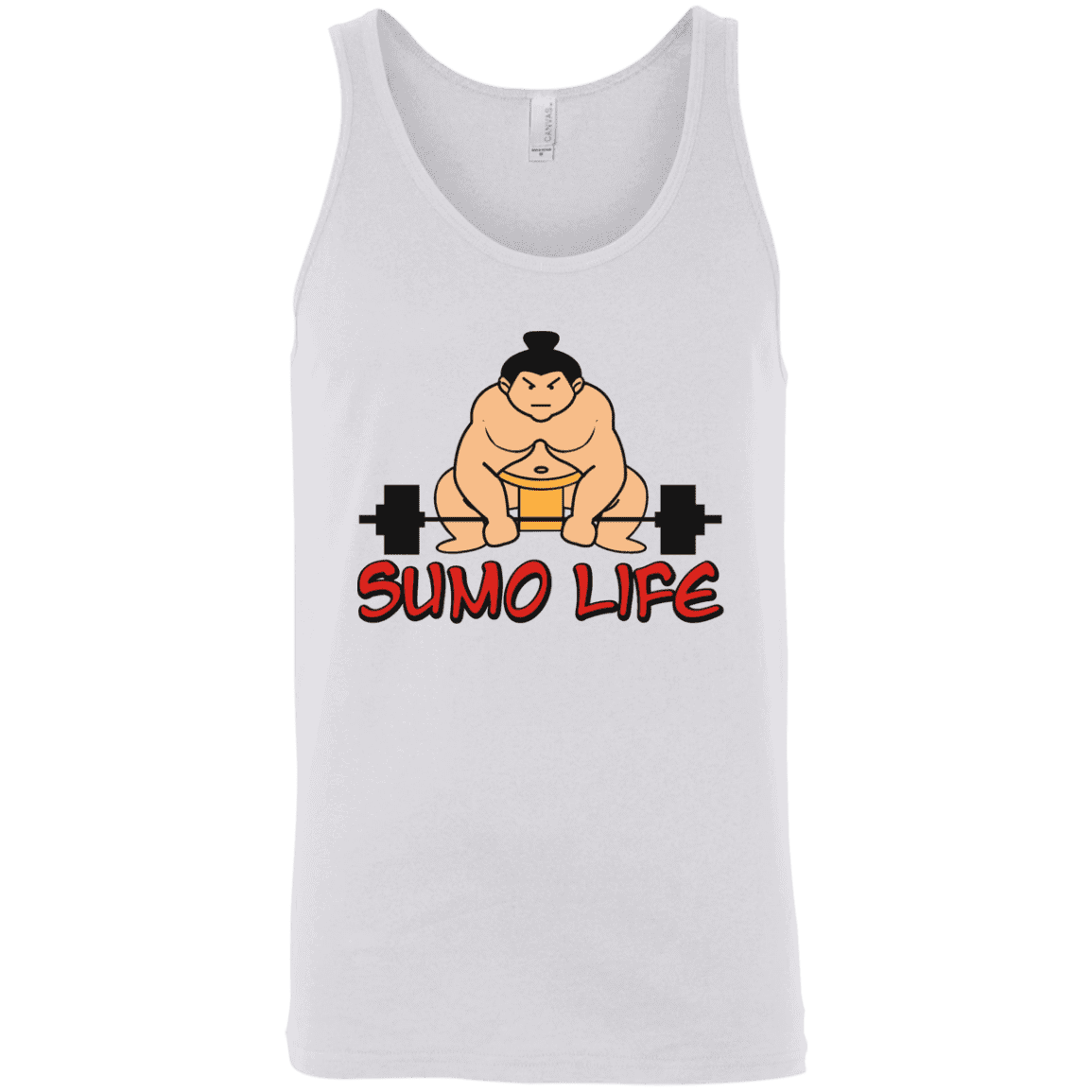 T-Shirts White / X-Small Sumo Life Tank Top