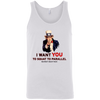 T-Shirts White / X-Small Uncle Sam Tank Top