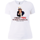 T-Shirts White / X-Small Uncle Sam Women's Extra Comfort Tee