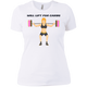 T-Shirts White / X-Small Will Lift For Carbs (Donuts) Women's XC Tee