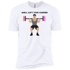 T-Shirts White / X-Small Will Lift For Carbs (Donuts) XC Tee