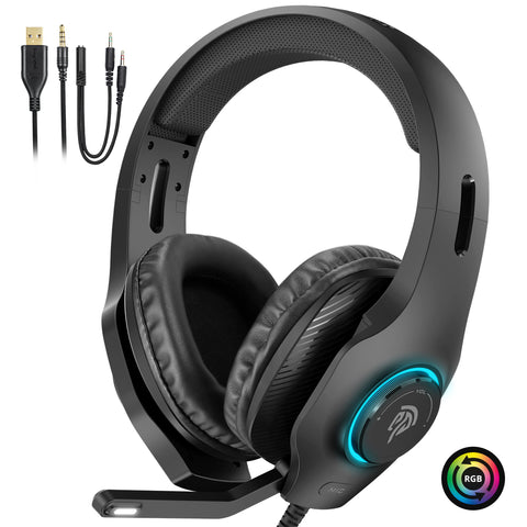 EasySMX VIP002S RGB Gaming Headset for PC/PS4/Xbox One