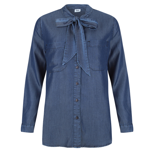 Jeans Blouse Bow