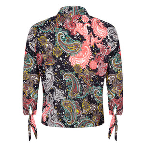 About Jackie - Paisley Print Blouse