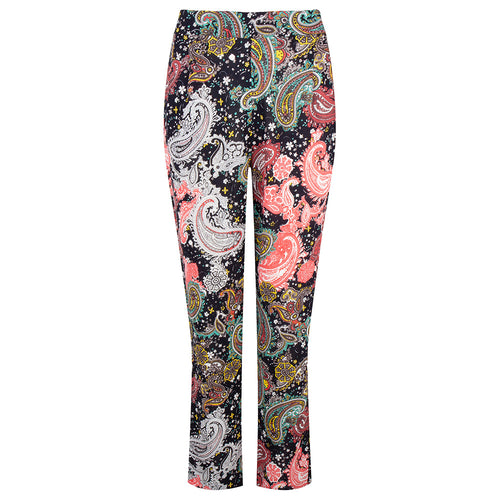 Paisley print trousers